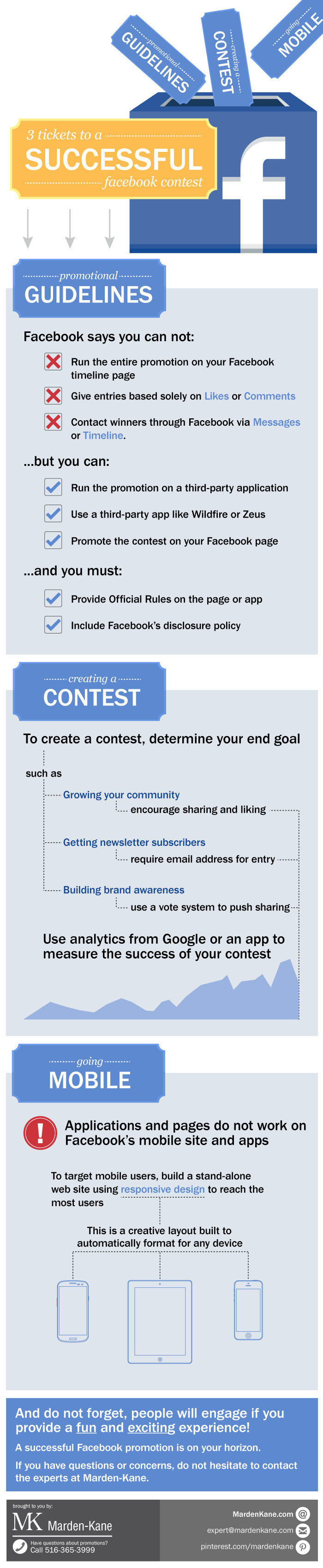 INFOGRAPHIC: 3 Tickets to Facebook Contest Success