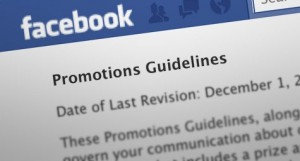 using facebook promotions