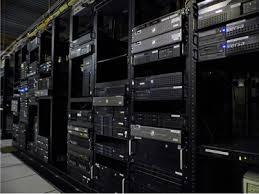 Servers in a rack ready for the next promotion traffic surge