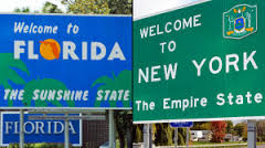 Florida and New York require bonds be set up for sweepstakes with prizes over $5,000 in total