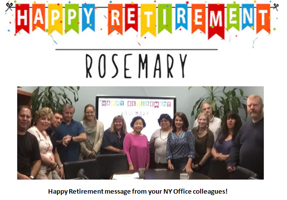 happy retirement message from your ny office