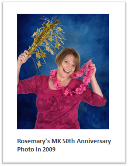 rosemary mk 50th anniversary