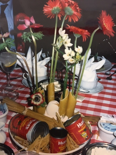 Table settings were carefully planned for the Hunt's Great Recipe Hunt Finals!